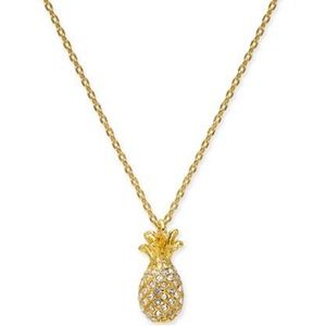 Kate Spade - NWT By The Pool Pineapple 🍍Necklace